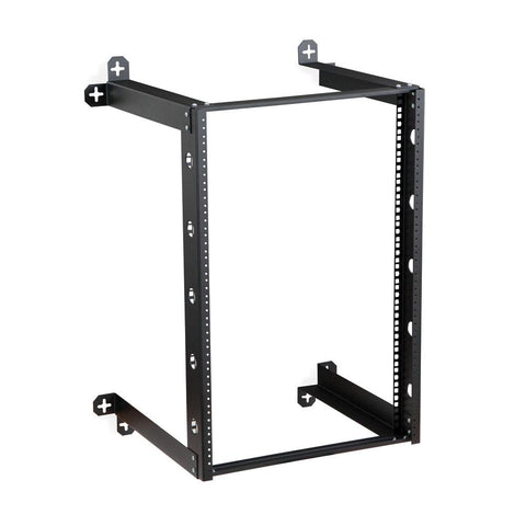 "Kendall Howard 16U V-Line Wall Mount Rack - 18"" Depth - 1915-3-301-16"