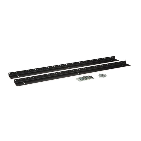Kendall Howard 18U LINIER Wall Mount Vertical Rail Kit - 10-32 Tapped - 3150-3-002-18