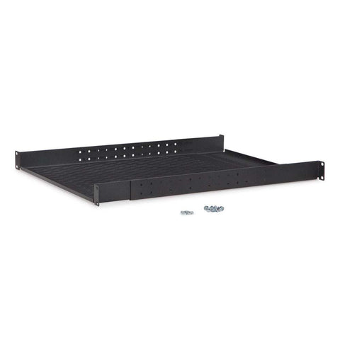 Kendall Howard 1U Vented 4-Point Adjustable Shelf - 1906-3-008-01