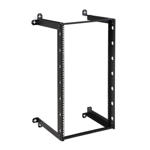 "Kendall Howard 21U V-Line Wall Mount Rack - 18"" Depth - 1915-3-301-21"