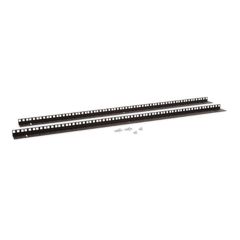 Kendall Howard 22U LINIER Wall Mount Vertical Rail Kit - Cage Nut - 3150-3-001-22