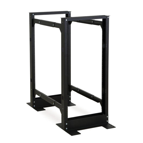 Kendall Howard 24U 4-Post Adjustable Rack - 1940-3-100-24