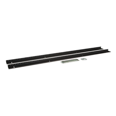 Kendall Howard 27U LINIER Server Cabinet Vertical Rail Kit - 10-32 Tapped - 3160-3-002-27