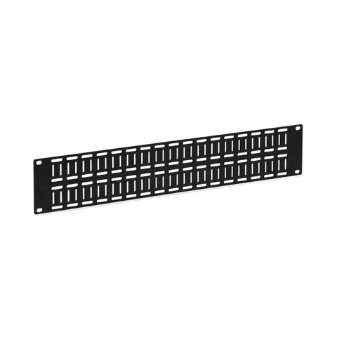 Kendall Howard 2U Flat Cable Lacing Panel - 10 pack - 1903-1-012-02