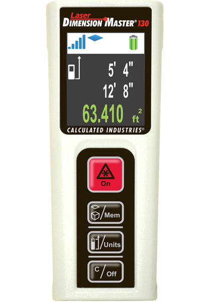 Calculated Industries Laser Dimension Master 130 Distance Measure Tool - 3356