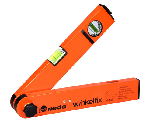 "Nedo Winkelfix 12"" (305 mm) Shorty Analog Angle Finder - 500101-185"