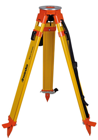 "Nedo 40"" to 67"" Heavy-Duty Wooden Tripod w/ Click-it Locking System - 200514-185"