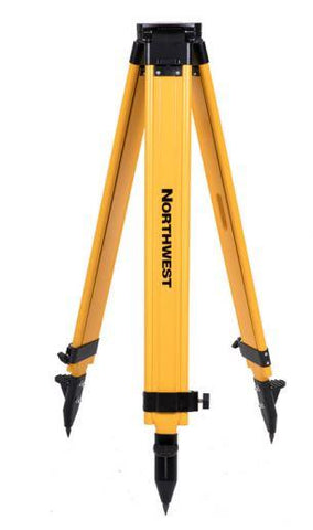 Northwest Instrument Heavy-Duty Wood/Fiberglass Flat-Head Tripod w/ Quick Clamp Lock - NWFT99A