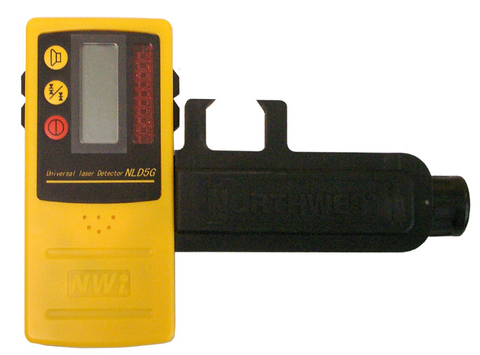 Northwest Instrument Heavy-Duty Laser Detector w/ Dual-Side LCD Display - NLD5G