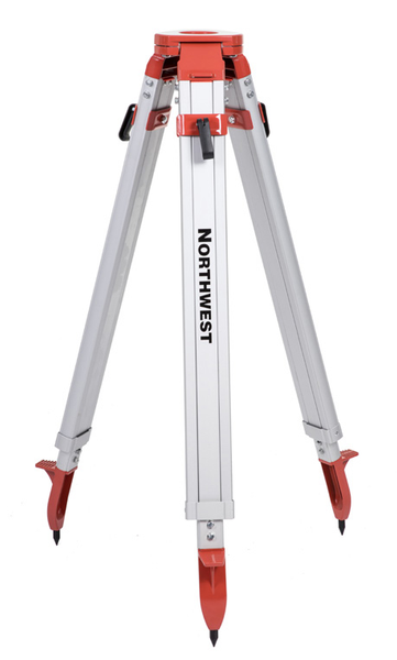 "Northwest Instrument 38"" to 64"" Heavy-Duty Flat-Head Side-Screw Tripod - NAT87"