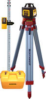 Northwest Instrument 3-Beam Exterior Rotary Laser Package w/ Contractor's Tripod, Detector Clamp & Aluminum Rod - NEXPK602