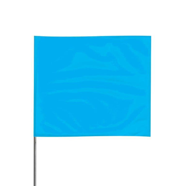 "Presco 2"" x 3"" Marking Flag (Blue Glo) for 36"" Staff - 2336BG"