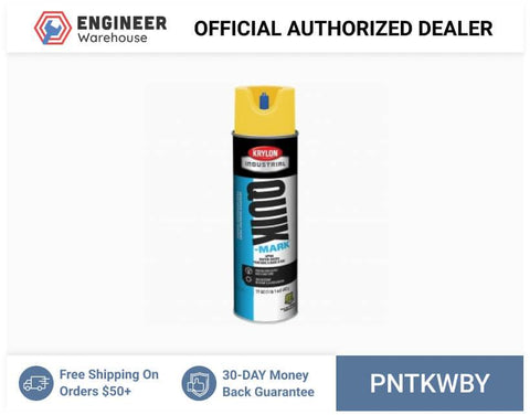 Smi-Carr - Invert Paint 17oz 12/case Water Yellow - PNTKWBY