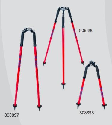 Sokkia Pro Series Prism Pole Thumb Release Bipod (Red) - 808897