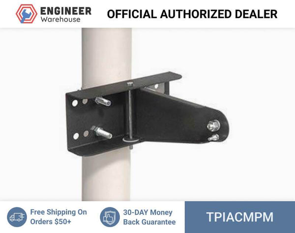 TPI Pole Mount Kit for ACH and IHP Series (Gray) - ACMPM