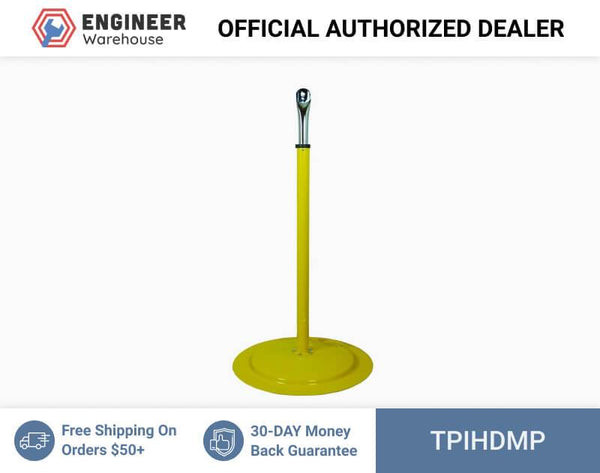 TPI Heavy-Duty Pedestal Mount for HDH Series Fans (Yellow) - HDM-P