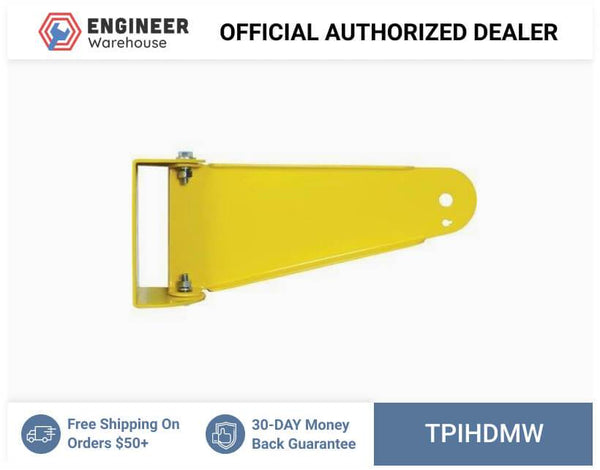 TPI Heavy-Duty Wall Mount for HDH Series Fans (Yellow) - HDM-W