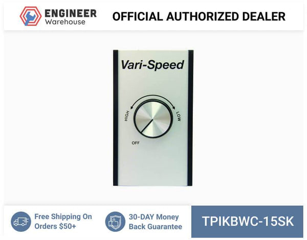 TPI 3-5 Ceiling Fans Reversing Switch and Speed Control - KBWC-15SK