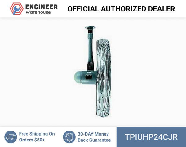 "TPI 24"" 13 HP Ceiling Mount Industrial Unassembled Maximum Duty Circulators - UHP24CJR"