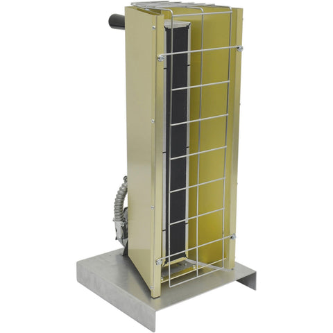 TPI 1.45 KW 120V FSP Series Portable Infrared Flat Panel Heater (Corded) - FSP14121C