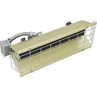 TPI 1.45 KW 240V FSS Series Heavy Duty Flat Panel Emitter Electric Overhead Infrared Heater - FSS14241