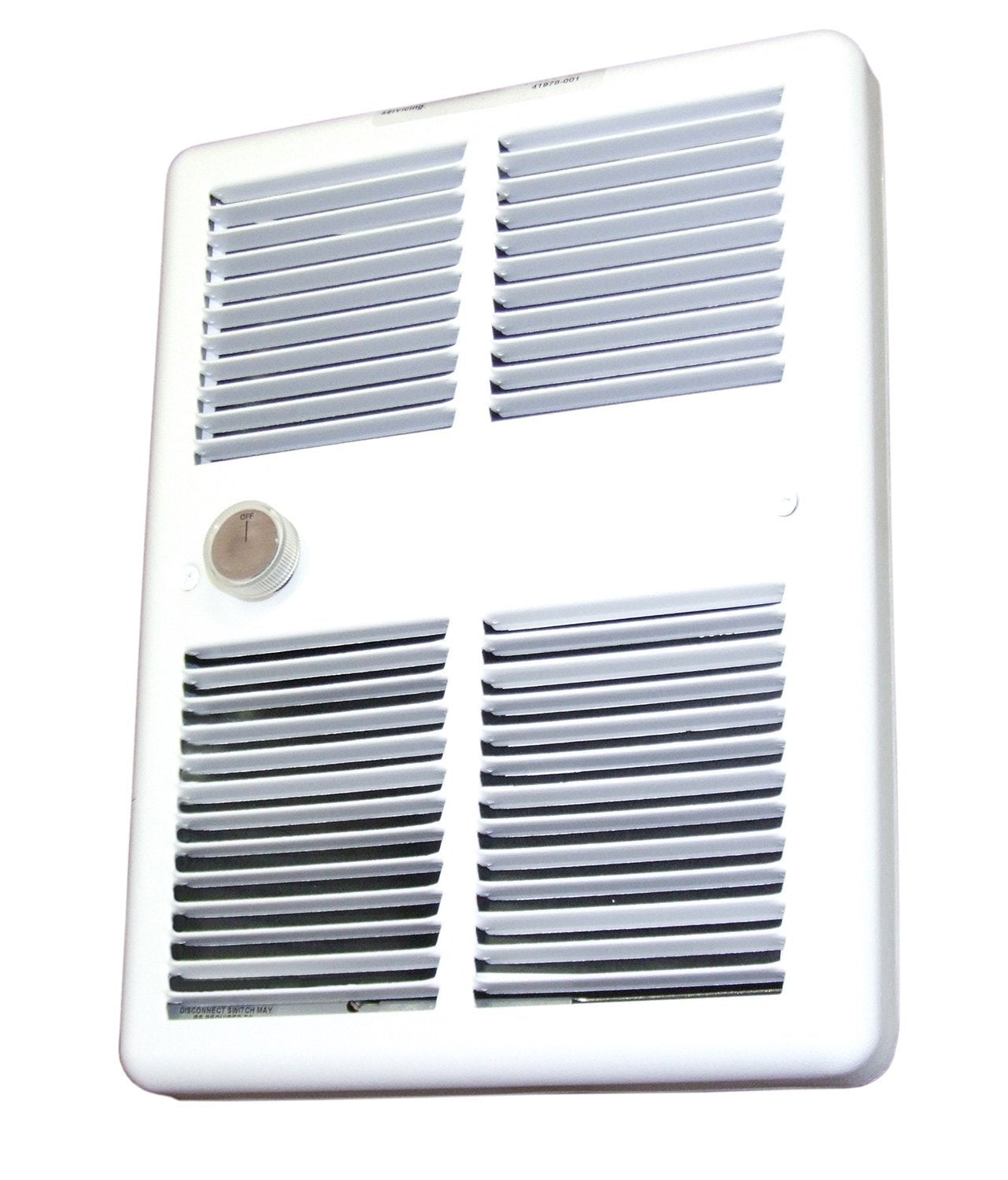 TPI 1000/750W 240/208V 3200 Series Midsized Fan Forced Wall Heater, No Thermostat - HF3210RPW