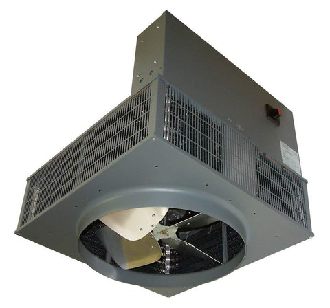 TPI 10 KW 208V 1PH 2600 Series Downflow Unit Heater - F1F2610CA1