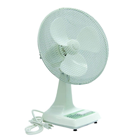 "TPI 12"" Workstation Oscillating Office Desk Fan - ODF12"