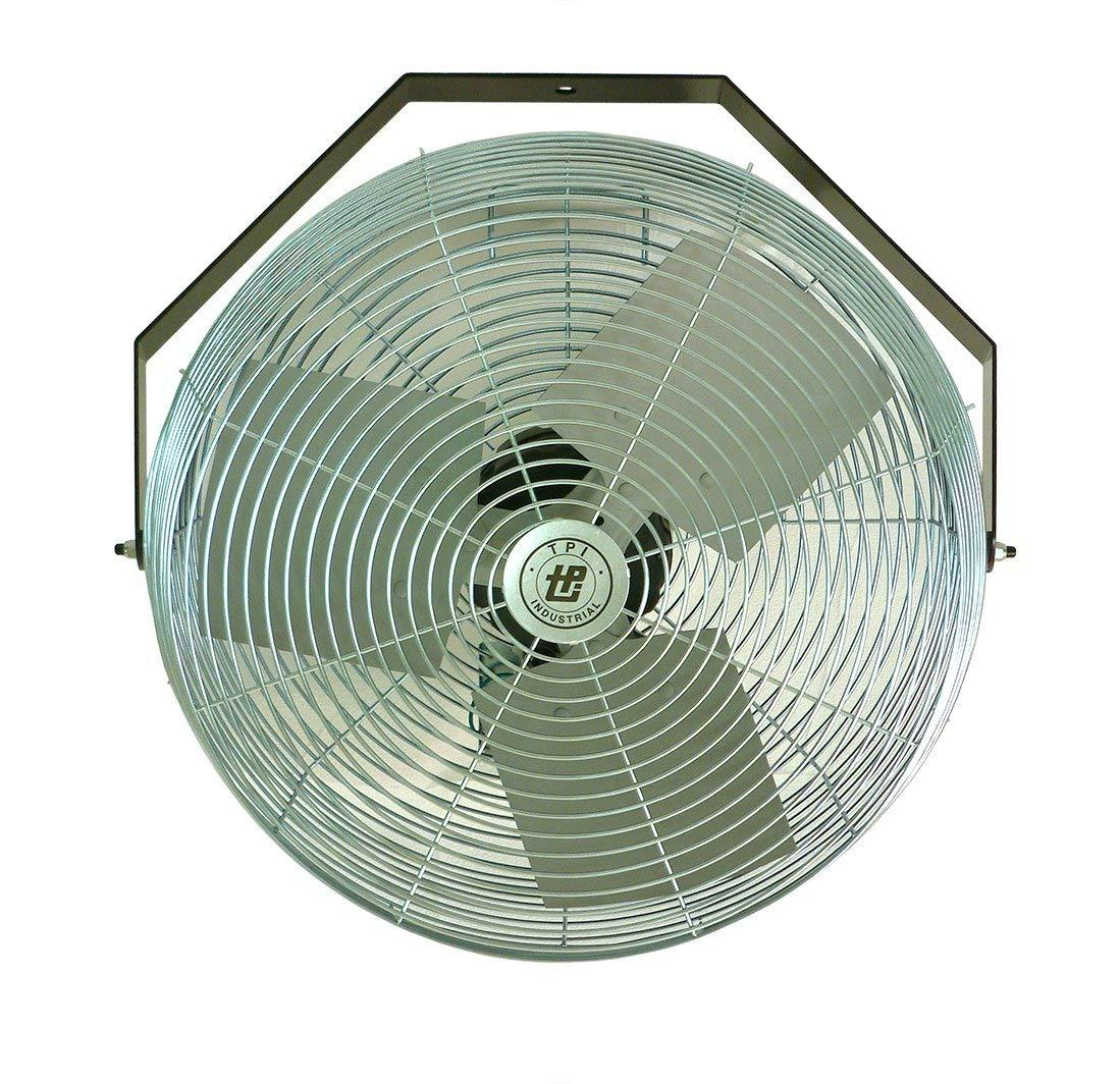 "TPI 12"" 3-Speed 1/12 HP 120V Workstation Fan - U12TE"