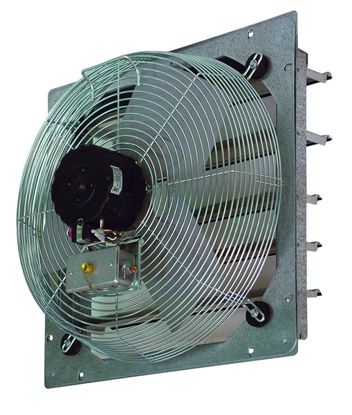 "TPI 14"" 3-Speed 1/8 HP Shutter Mounted Direct Drive Exhaust Fan - CE14DS"