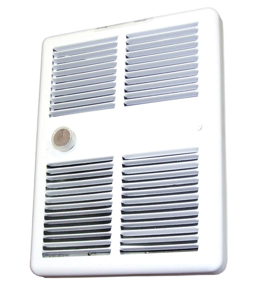 TPI 1500/1125W 240/208V 3200 Series Midsized Fan Forced Wall Heater, No Thermostat - HF3215RPW