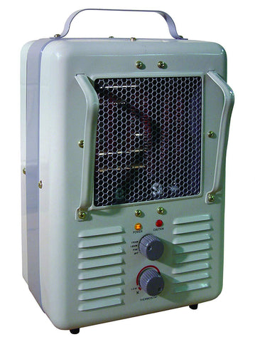 TPI 188 Series 120V Milk-House Style Fan Forced Portable Heater - 188TASA