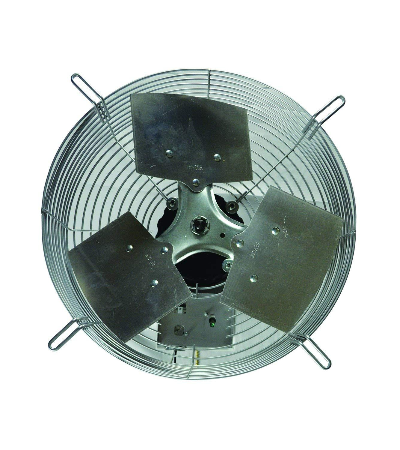 "TPI 16"" 3-Speed 1/8 HP Guard Mounted Direct Drive Exhaust Fan - CE16D"