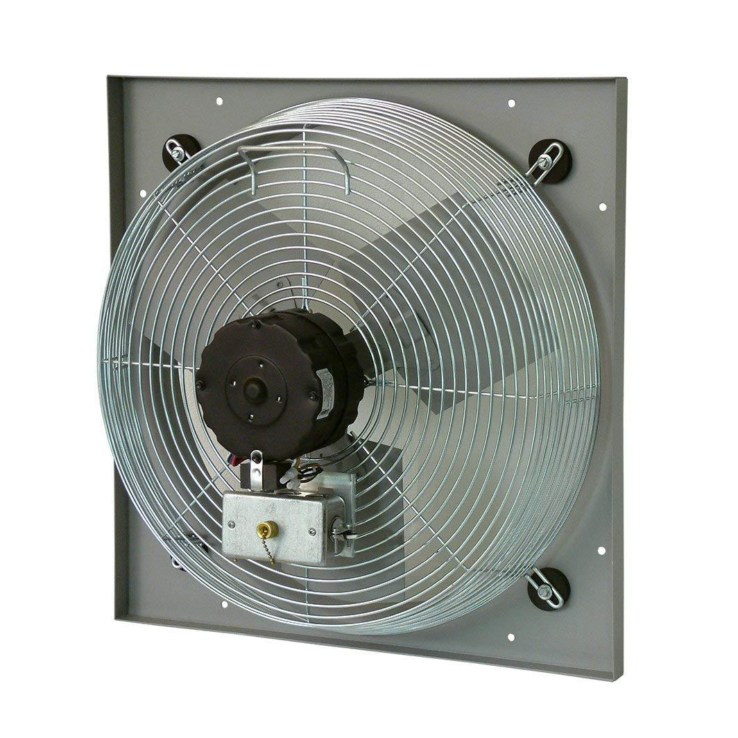 "TPI 18"" 3-Speed 1/8 HP Venturi Mounted Direct Drive Exhaust Fan - CE18DV"