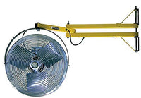 "TPI 18"" High Velocity Fan Mounted on 40"" Pivoting Arm - 40LDFTE"