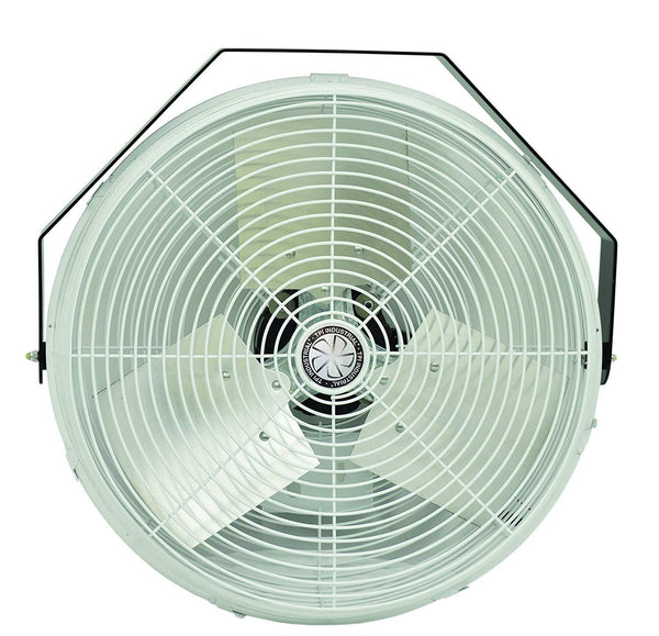 "TPI 18"" Corrosion Resistant Industrial Workstation Wall/Ceiling Fan - U18CR"