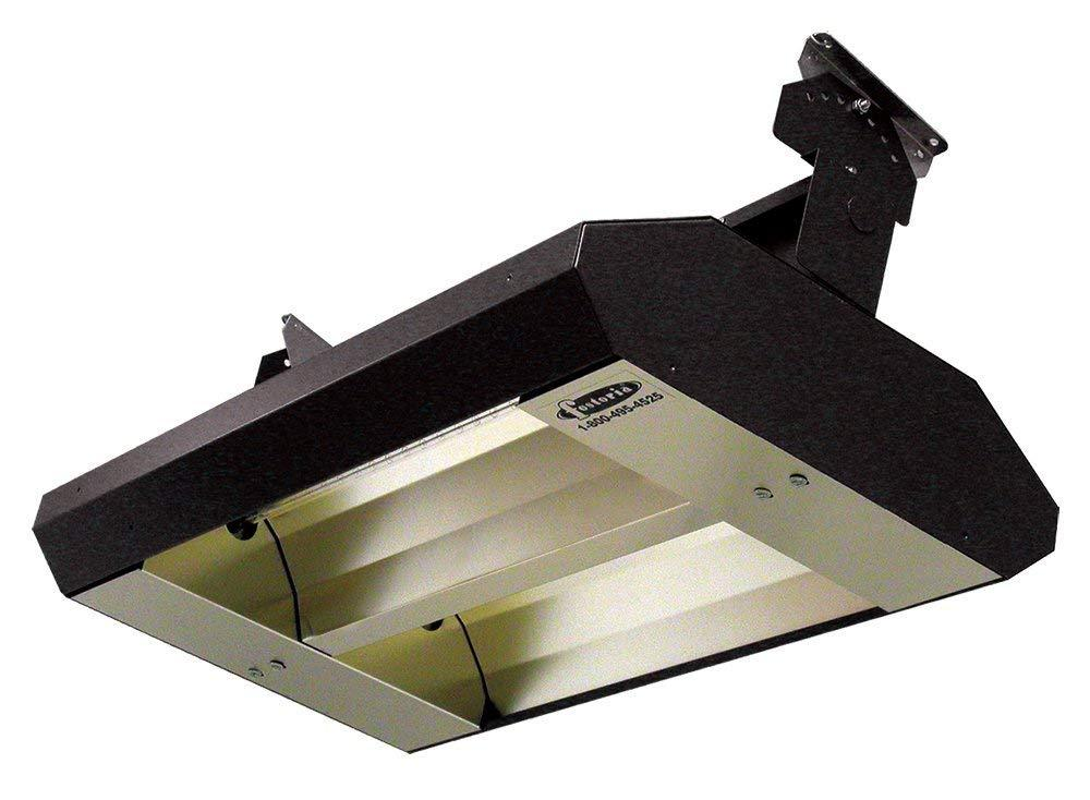 TPI 2-Lamp 3.2KW 240V 60 Asymmetrical Mul-T-Mount Infrared Heater - 222A60TH240V