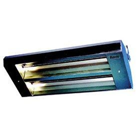 TPI 2-Lamp 5KW 240V 60 Asymmetrical Mul-T-Mount Infrared Heater w/ Stainless Steel Housing - 342A60THSS240V
