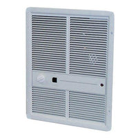 TPI 2000W 277V 3310 Series Fan Forced Wall Heater (Ivory) - Without Summer Fan Switch - No Thermostat - G3314RP