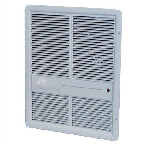 TPI 2000W 277V 3310 Series Fan Forced Wall Heater (Ivory) - Without Summer Fan Switch - 1 Pole Thermostat - G3314TRP