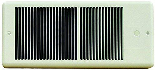 TPI 2000/1500W 240/208V 4300 Series Low Profile Fan Forced Wall Heater - No Thermostat - Ivory w/ Box - HF4320RP