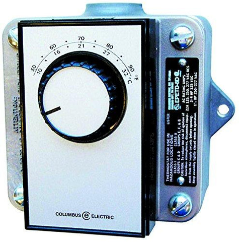 TPI 22A@120-277VAC SPDT Bi-Metal Hazardous Location Thermostat for Single Phase - EPETD8S