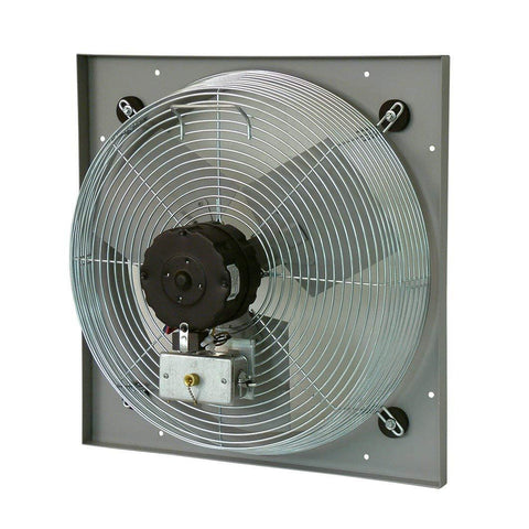 "TPI 24"" 2-Speed 1/4 HP Venturi Mounted Direct Drive Exhaust Fan - CE24DV"