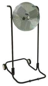 "TPI 24"" Industrial Workstation High Stand Floor Fan - F24HTE"