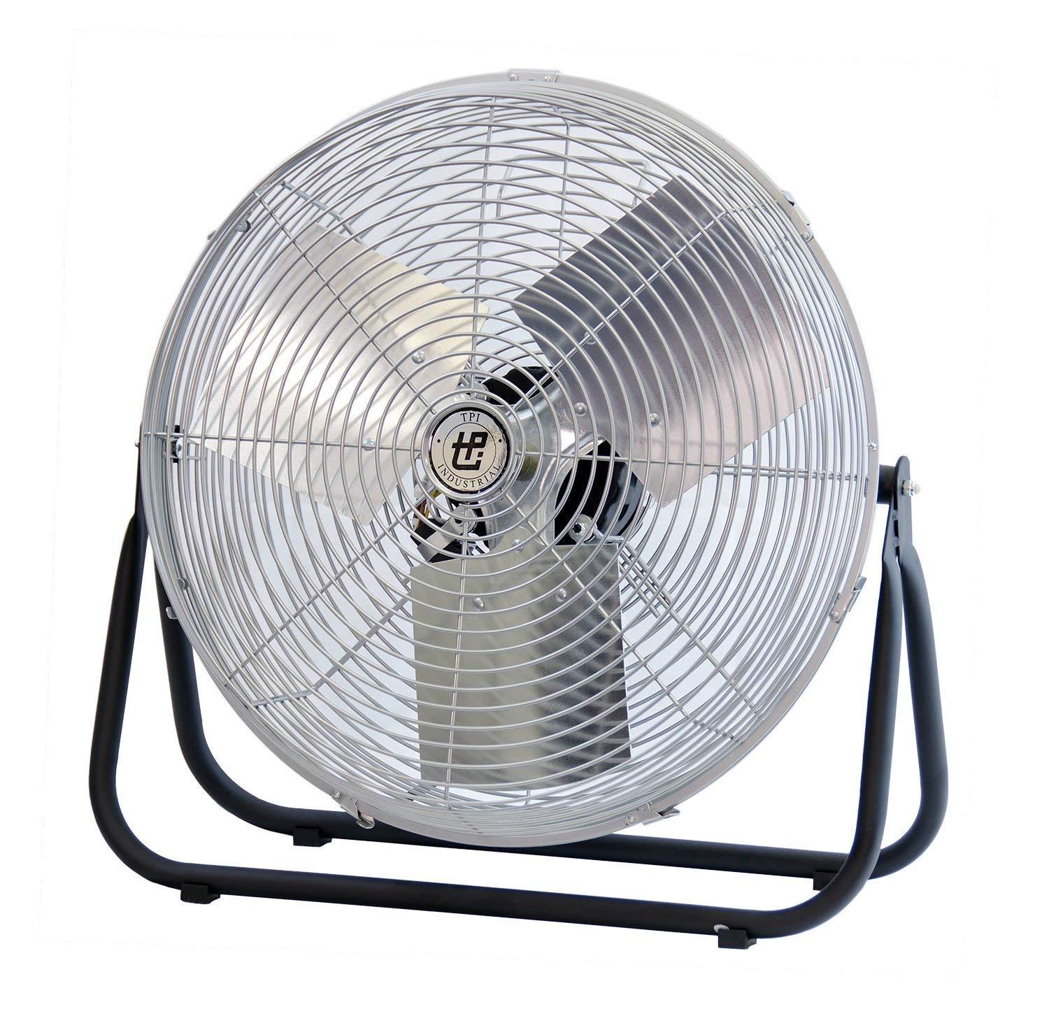 "TPI 24"" Industrial Workstation Floor Fan - F24TE"