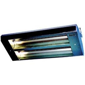 TPI 2-Lamp 5KW 208V 90 Symmetrical Mul-T-Mount Infrared Heater w/ Stainless Steel Housing - 34290THSS208V