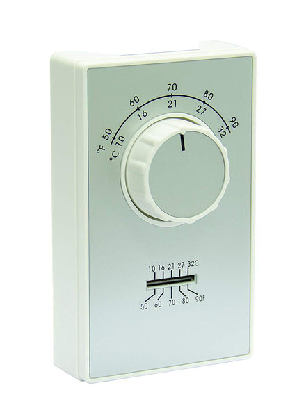 TPI ET9 Series 2-Stage Line Voltage Heat Only Thermostat - ET9MTS