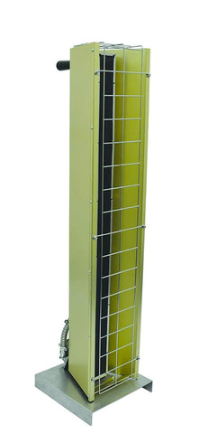 TPI 3.15 KW 240V FSP Series Portable Infrared Flat Panel Heater - FSP31241