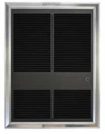 TPI 3000/2250W 240/208V 3320 Series Commercial Fan Forced Wall Heater - HF3325TDRP
