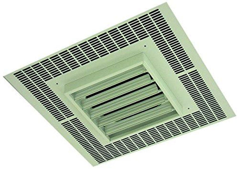 TPI 3KW 240V 1PH 3480 Series Commercial Fan Forced Recessed Mounted Ceiling Heater - H3483A1